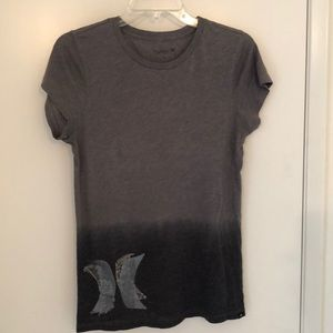 Hurley light weight tee with lace detail